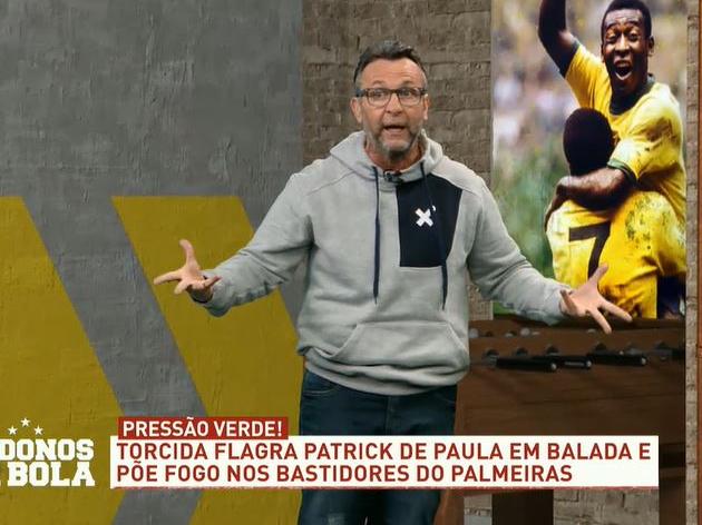 Neto chama Patrick de Paula de idiota e cobra explicações do Palmeiras