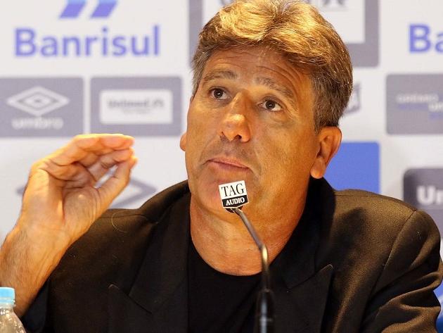 Renato Gaúcho assinou com o atual bicampeão brasileiro até o final do ano
