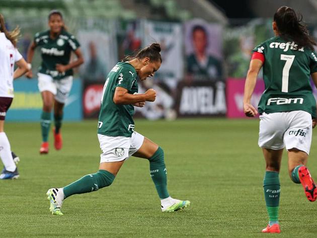 Palmeiras segura pressão e bate a Ferroviária pelo Brasileiro