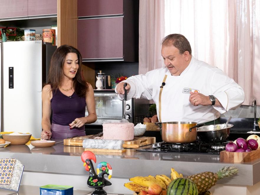 """Erick Jacquin explora a culinária portuguesa no quarto episódio do """"Minha Receita"""""""