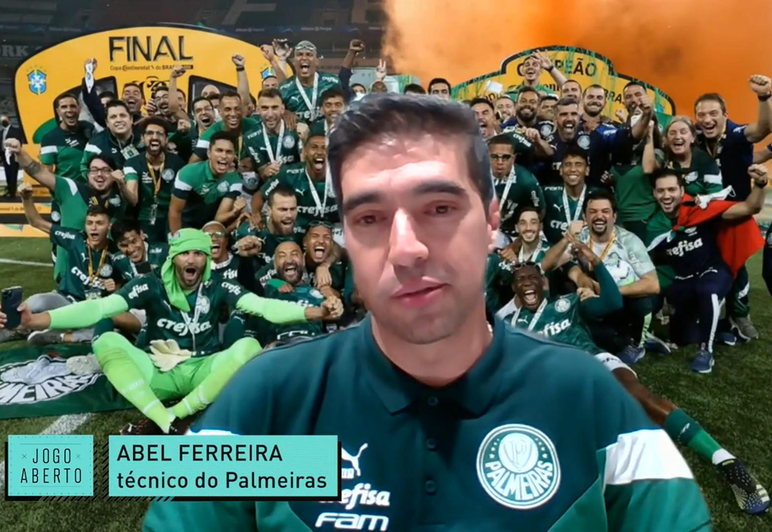 Treinador português não vê a hora de ver a torcida no Allianz Parque