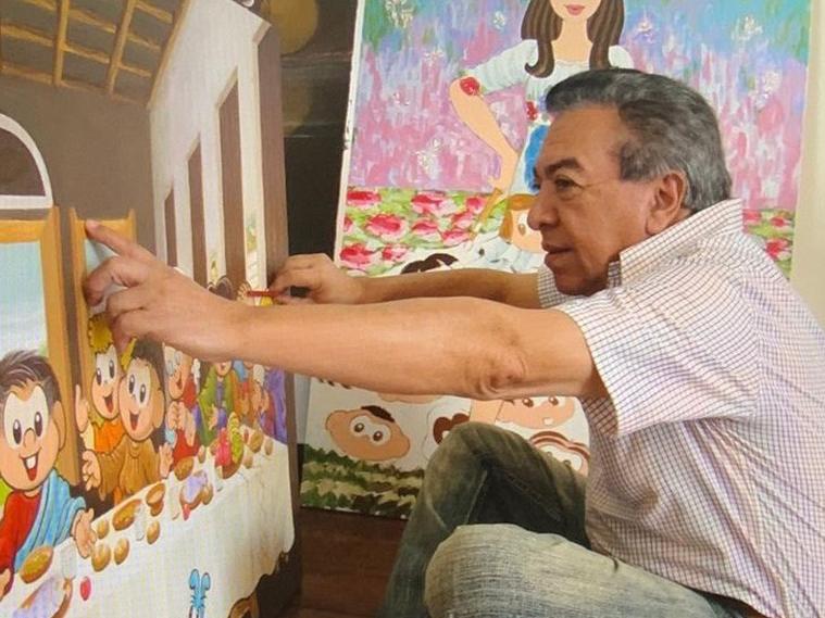"""""""Reclame"""" entrevista o cartunista Mauricio de Sousa nesta terça-feira na Play FM"""