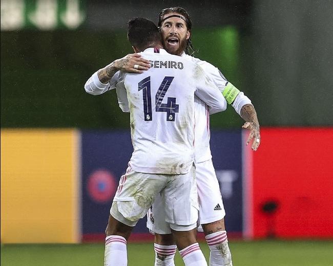 Casemiro e Sergio Ramos são dois dos pilares do Real