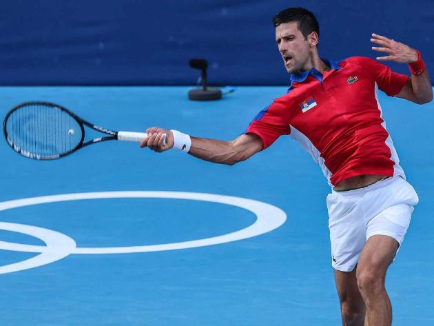 Sérvio vai enfrentar o espanhol Davidovich Fokina na sequência do torneio olímpico