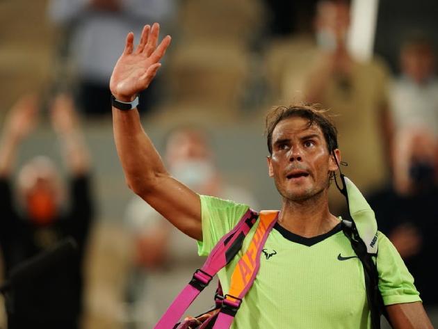 """""""Não é um desastre de jeito nenhum"""",  diz Nadal após eliminação em Roland Garros"""