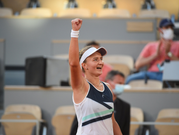 Tcheca vai enfrentar a russa Anastasia Pavlyuchenkova na final do Grand Slam