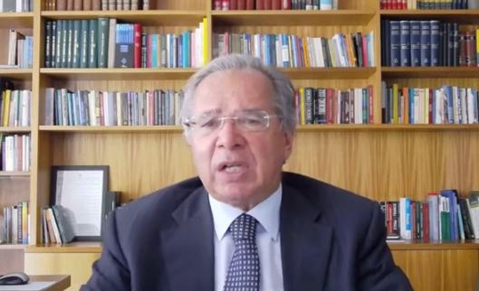 Paulo Guedes, ministro da Economia, nega calote com o avanço do PEC dos Precatórios