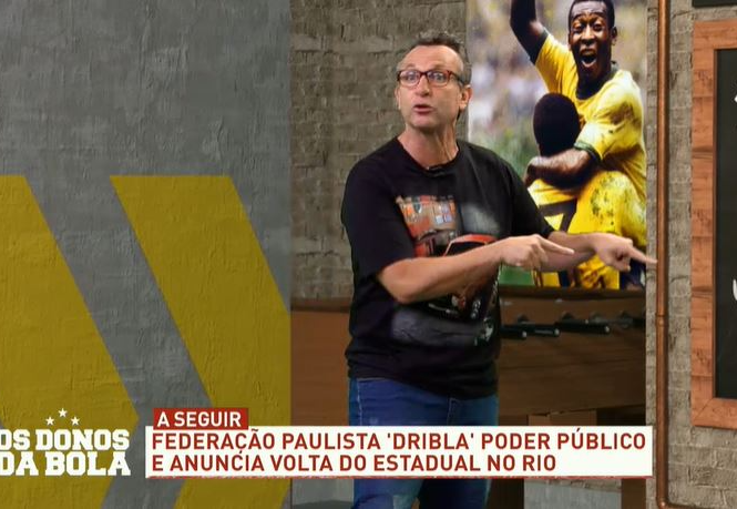 """Neto diz que federação paulista """"deveria acabar"""" e critica Felipe Melo"""