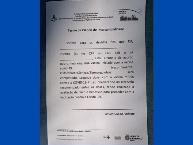 Governo de São Paulo muda de ideia e deixa de exigir a assinatura de termo de ciência