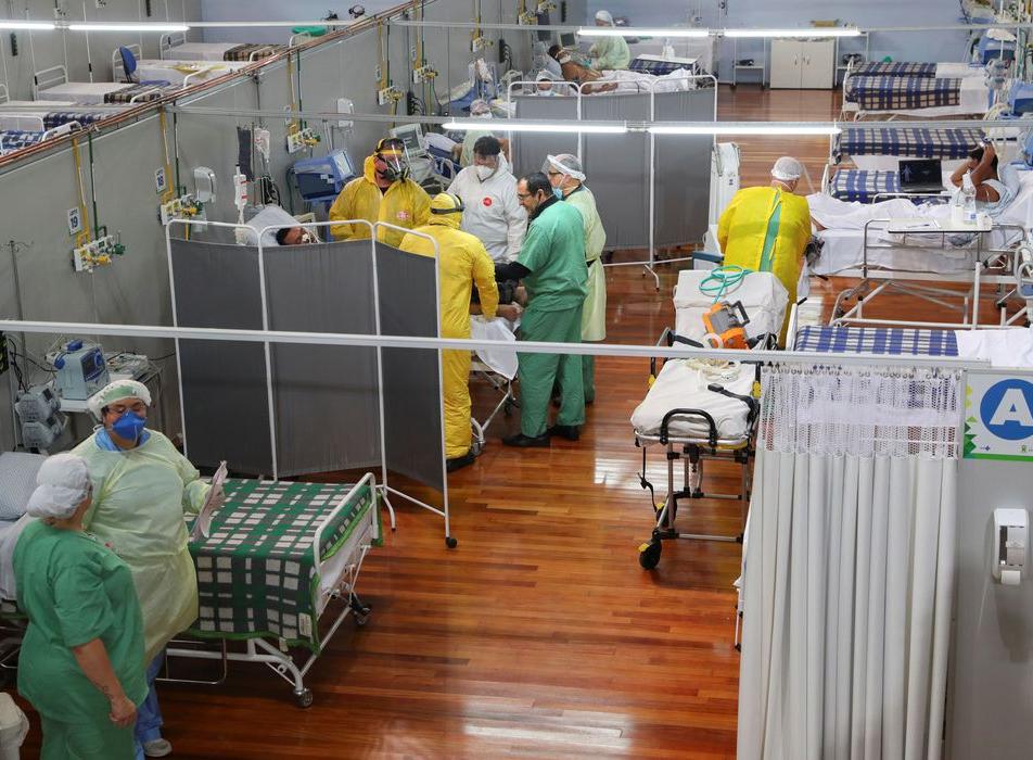 Covid-19: Brasil se aproxima das 415 mil mortes
