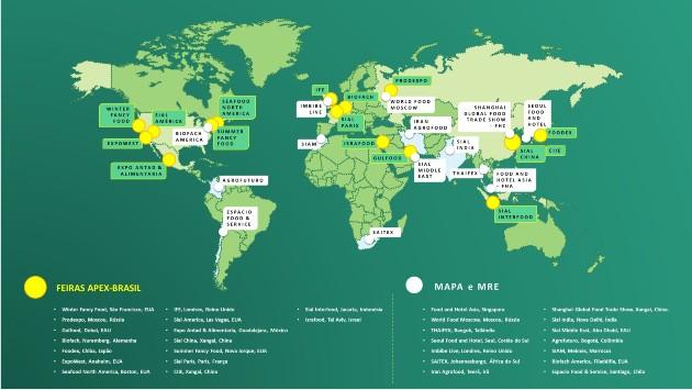 Feiras internacionais são oportunidade para empresas brasileiras começarem a exportar e expandir seus negócios