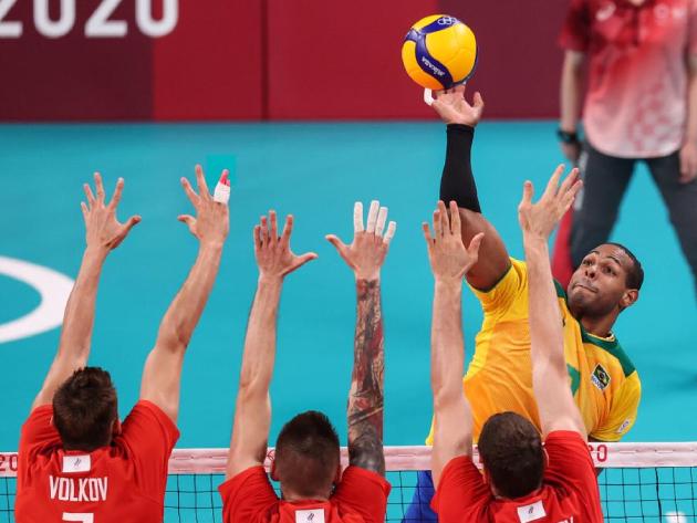 Brasil perdeu por 3 sets a 1 e deu adeus ao sonho do tetra