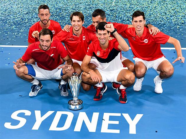 Atual campeã, Sérvia encara Alemanha e Canadá na ATP Cup