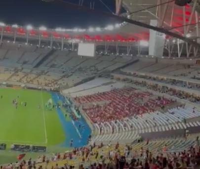 Próxima partida do Flamengo não terá público