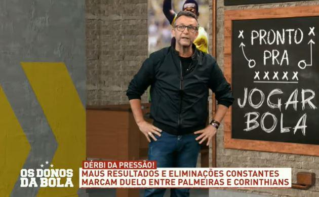 """Neto projeta Palmeiras x Corinthians: """"Se não tomar cuidado, vamos tomar sapecada"""""""