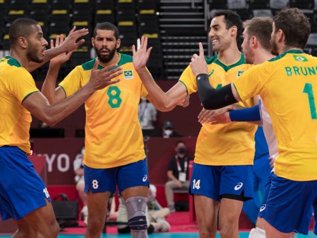 Brasil busca virada emocionante em jogaço contra a Argentina no vôlei masculino
