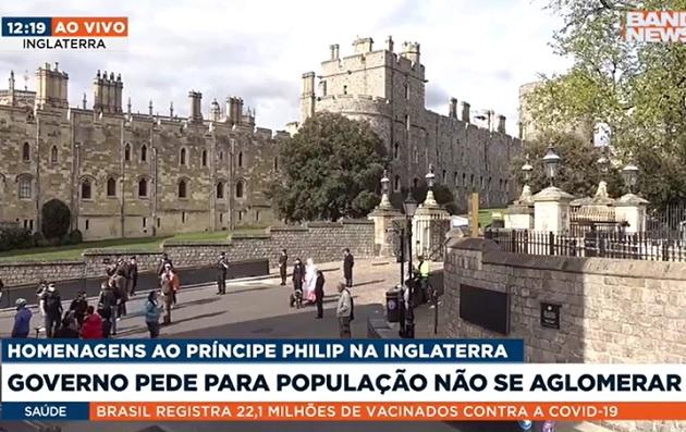 Após morte de Philip, governo pede que ingleses não façam homenagens em frente ao Palácio de Buckinghan