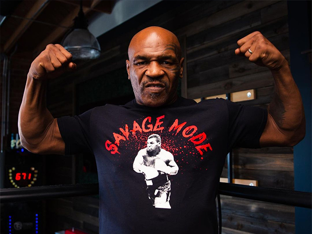 Mike Tyson se empolga com volta aos ringues e promete novas lutas