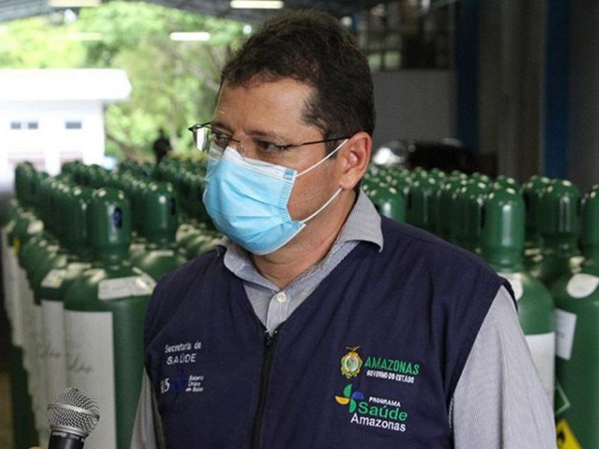 Ex-secretário de Saúde do Amazonas, Marcellus Campelo, depõe na CPI da Pandemia