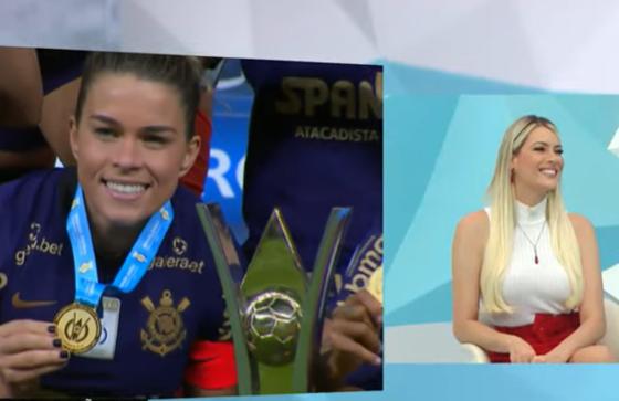 Renata parabeniza Corinthians e diz que Brasil está abraçando futebol feminino