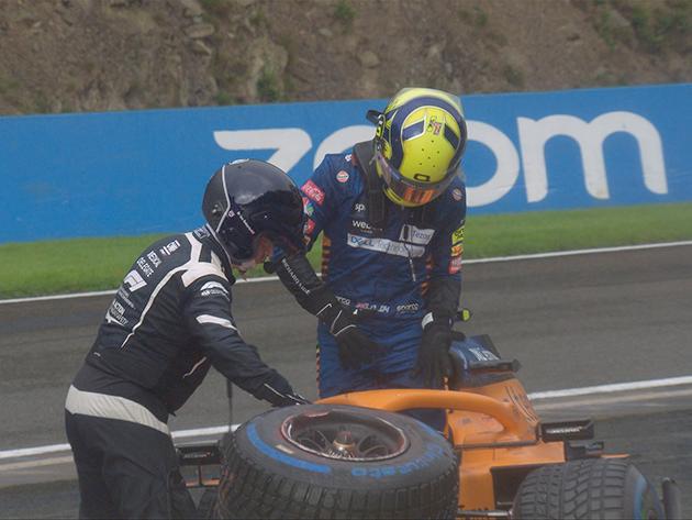Piloto da McLaren era destaque da classificação