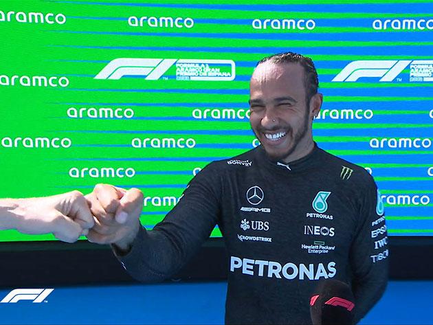 """""""Não consigo acreditar"""", diz Hamilton sobre 100ª pole position da carreira"""