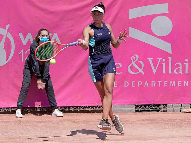 Dupla de Luisa Stefani avança às semifinais do WTA de Saint Malo, na França