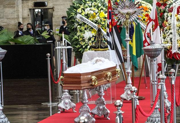 Veja fotos do velório e cortejo do corpo de Bruno Covas por São Paulo