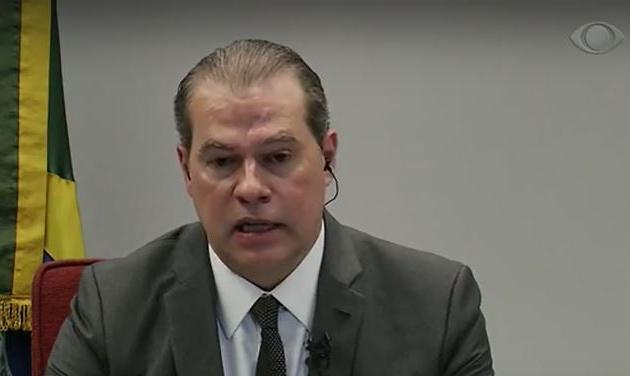 Toffoli diz que quebra de sigilo bancário de investigados mostra financiamento estrangeiro das fake news