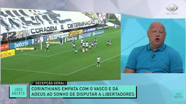 Fora da Liberta: Ronaldo Giovaneli se revolta com situação do Corinthians