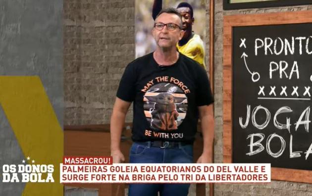 Neto manda recado a apresentador do Desimpedidos que goleou filho
