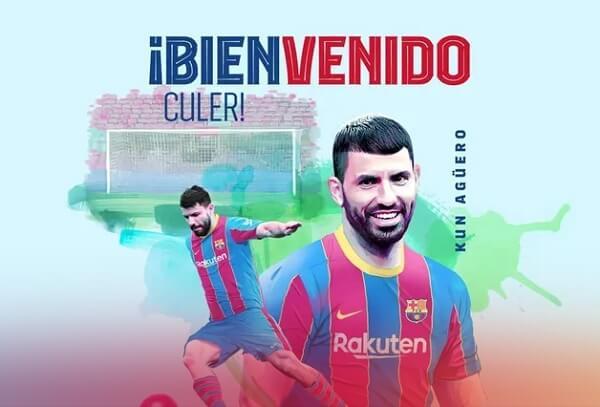 Barcelona anuncia a contratação do atacante Sérgio Agüero