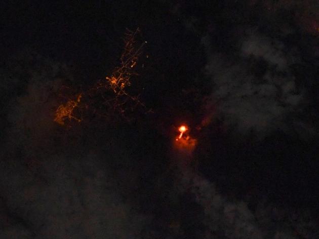 Imagens feitas do espaço mostram erupção do vulcão Cumbre Vieja