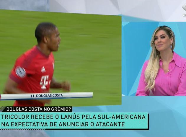 """""""Belo reforço"""": Jogo Aberto debate provável volta de Douglas Costa ao Grêmio"""