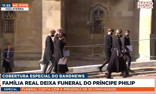 Harry e William conversam após funeral de Philip; assista ao encontro