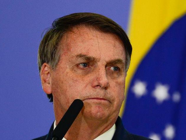 Bolsonaro discursa para apoiadores em evento ligado ao agronegócio