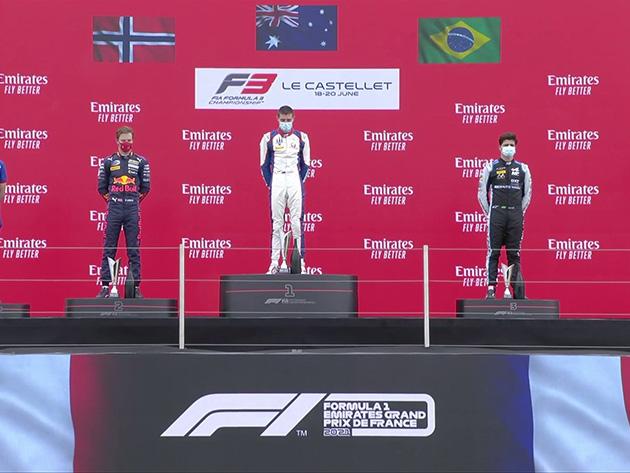 F3: Collet chega em terceiro na corrida 3; Doohan vence