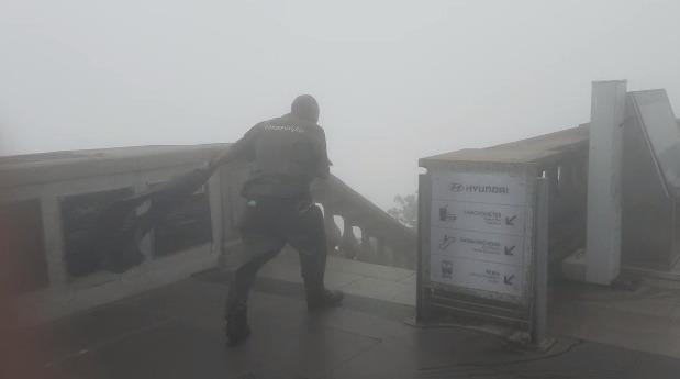 Ventos fortes deixam cidade do Rio em estágio de mobilização