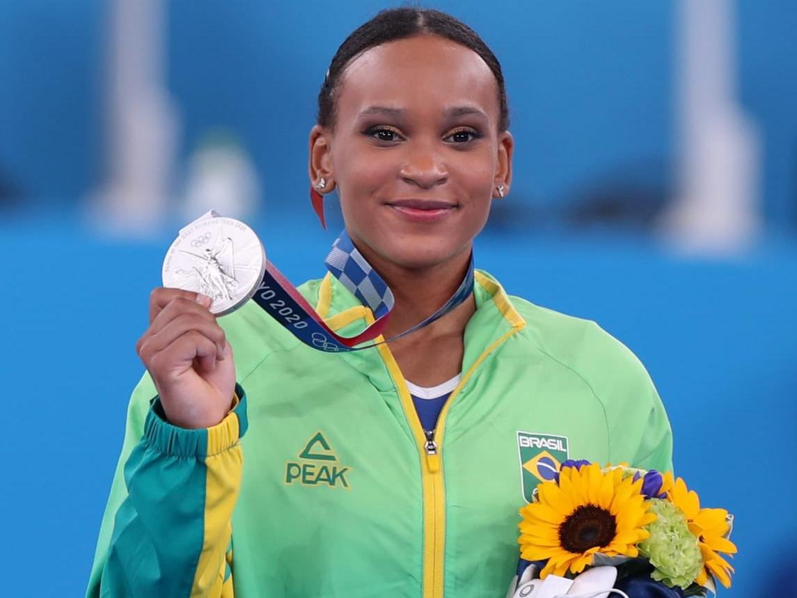 Paulista se tornou a primeira medalhista da ginástica feminina do Brasil em Jogos Olímpicos