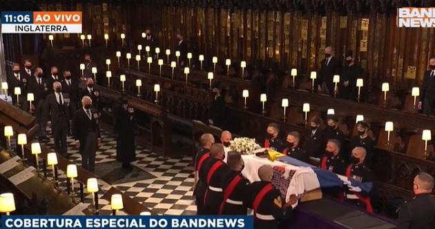 Cerimônia de despedida foi planejada há 20 anos pelo próprio príncipe Philip