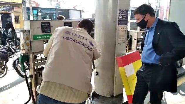 Posto que vendia combustível adulterado é interditado em SP