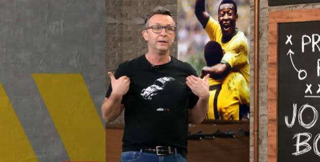 Neto declara torcida para o São Paulo e admite inveja do Palmeiras