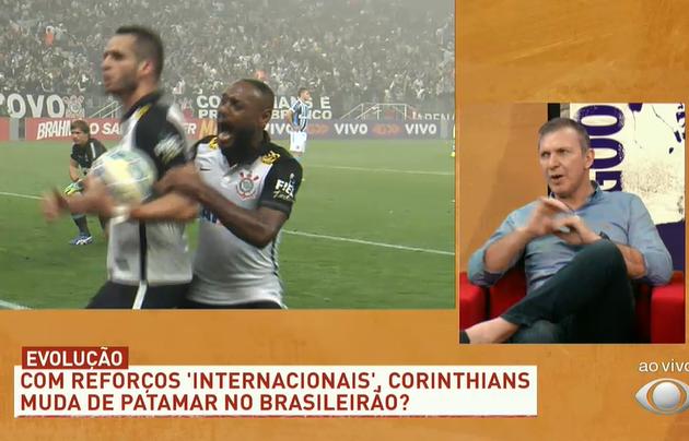 """Velloso: """"Giuliano, R. Augusto e Roger Guedes mudam Corinthians de patamar"""""""
