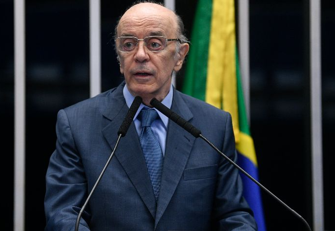 O Senador José Serra, do PSDB