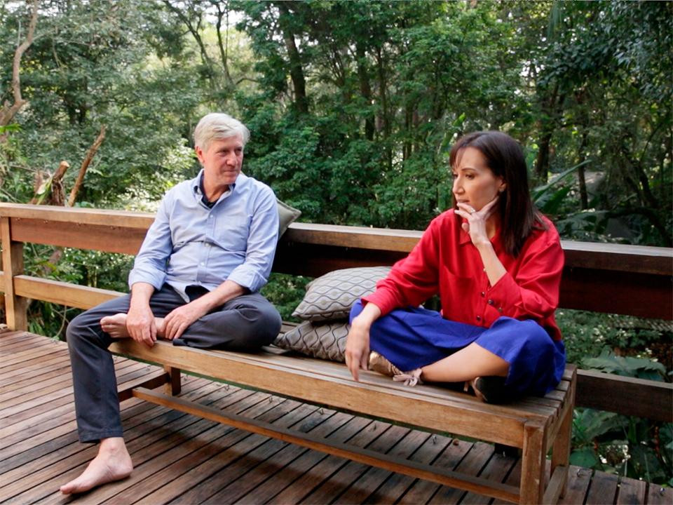 Marcelo Machado é entrevistado por Gisele Kato