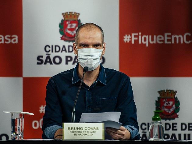 """Covas chamou o plano de metas de """"prudente"""" em meio à pandemia"""