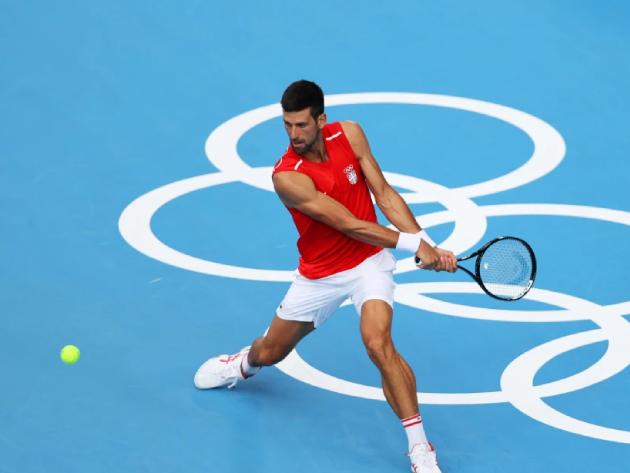 """Olimpíada será estranha sem Federer e Nadal"", diz Djokovic"