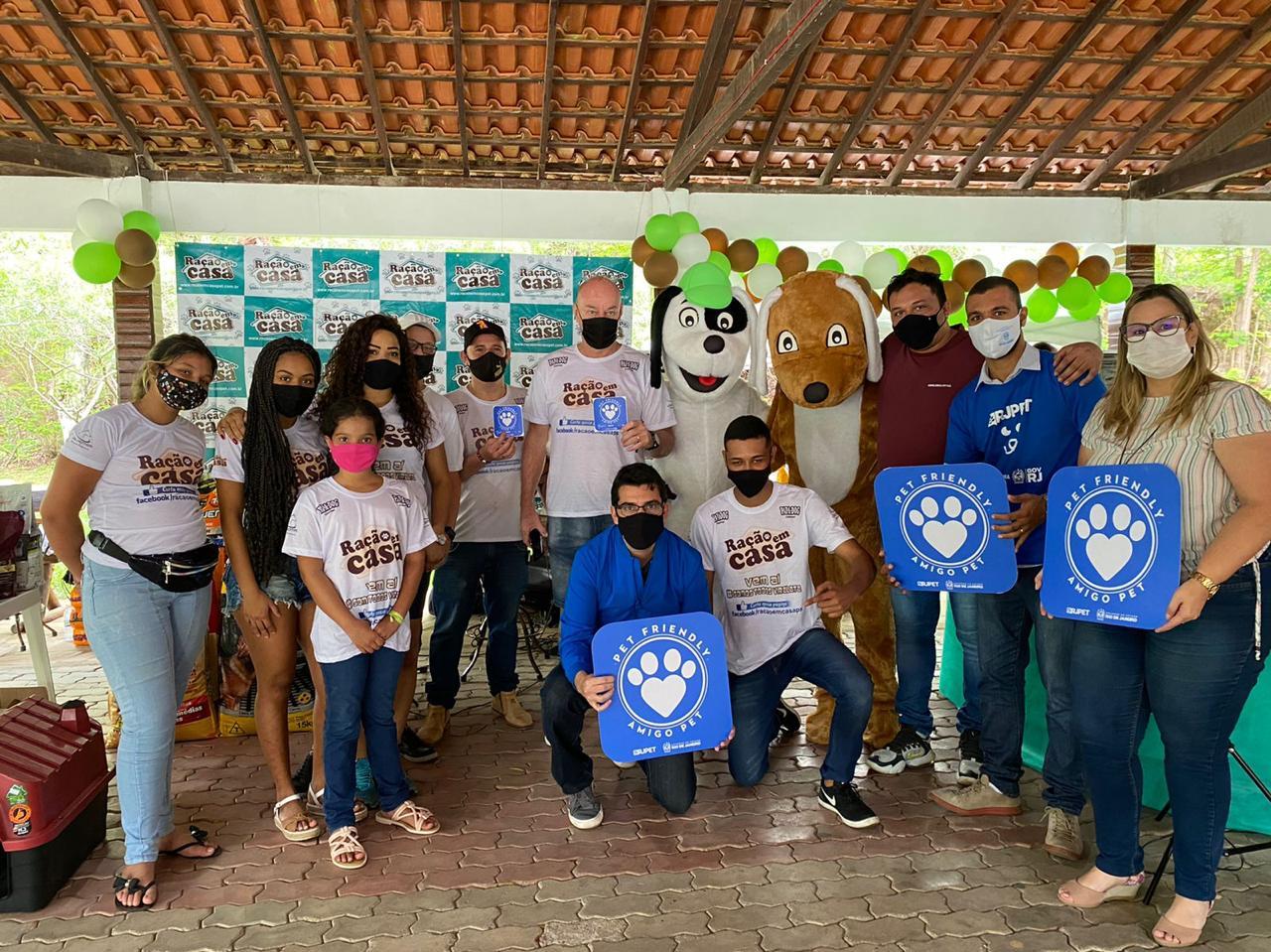 Campanha de adoção animal será feita em 92 municípios do Rio