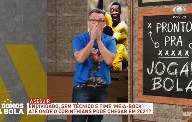 """""""Preferia não ter Mundial"""": Neto se cansa de piada e exalta o Palmeiras"""