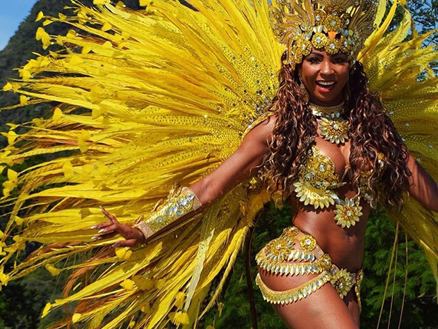 Passista da São Clemente, Tuane Rocha, é encontrada morta no Rio de Janeiro  | Band